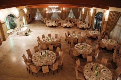 Matrimonio di sera all'Agriturismo Sala Ricevimenti Villa Santa Caterina 36